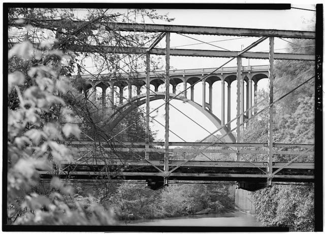 Station Road Bridge, Spanning Cuyahoga River, Brecksville, Cuyahoga County, OH