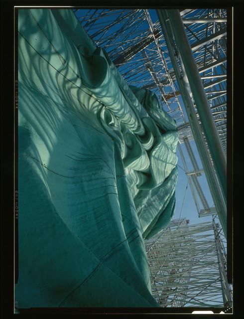 Statue of Liberty, Liberty Island, Manhattan, New York, New York County, NY