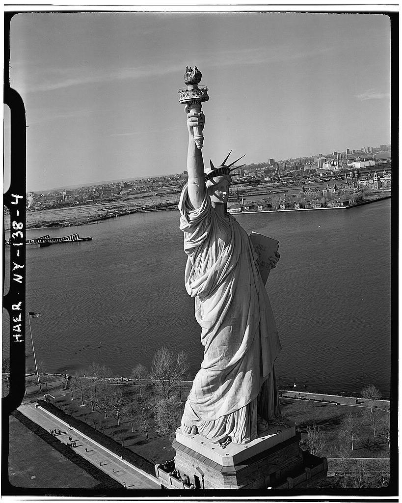 Statue of Liberty, Liberty Island, Manhattan, New York, New York County, NY