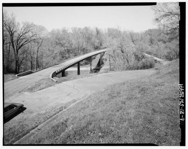 Steel Bridge, Spanning Jackson Road at Confederate Avenue, Vicksburg, Warren County, MS