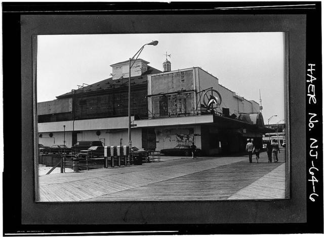 Steel Pier, Boardwalk at Virginia Avenue, Atlantic City, Atlantic County, NJ