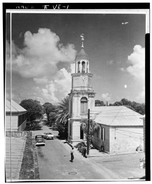 Steeple Building, Company Street, Christiansted, St. Croix, VI
