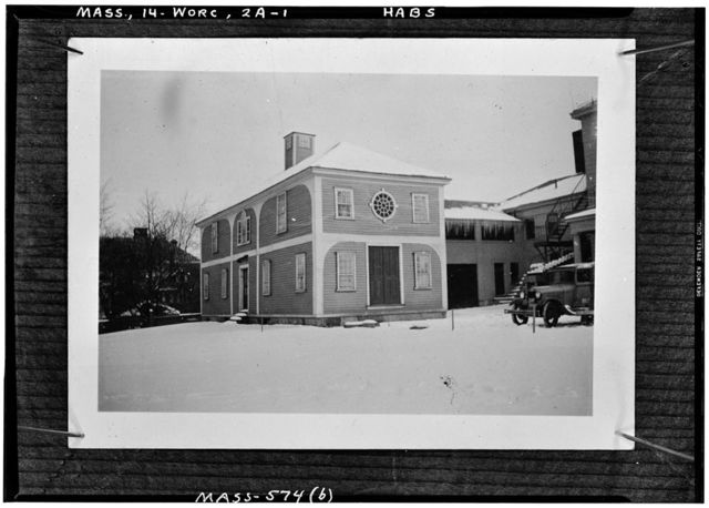 Stephen Salisbury Mansion (second), Worcester, Worcester County, MA