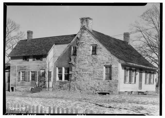 Stephen Thompson House, 298 Hemingway Avenue, East Haven, New Haven County, CT