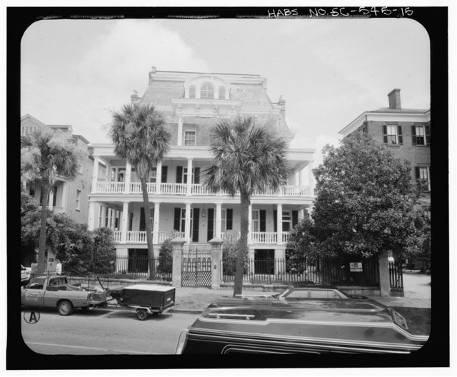 Stevens-Lathers House, 20 South Battery Street, Charleston, Charleston County, SC