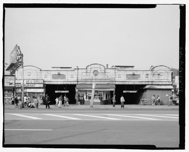 Stillwell Avenue Station, Intersection of Stillwell & Surf Avenues, Brooklyn, Kings County, NY