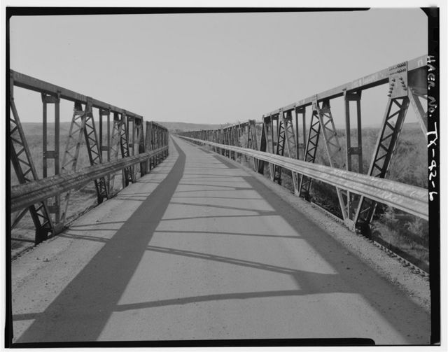 Stinnett Road Bridge, Spanning Canadian River at County Route 225, Borger, Hutchinson County, TX