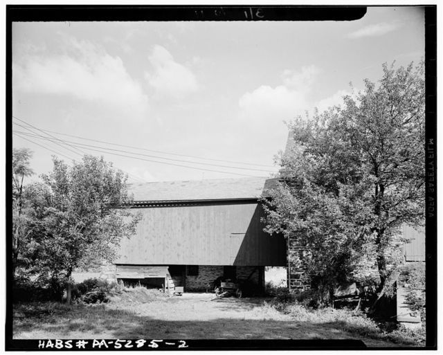 Stone Barn, State Route 113, Doylestown, Bucks County, PA