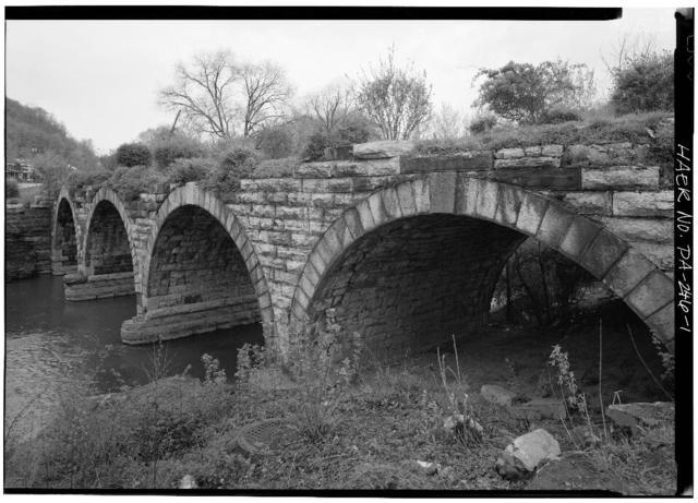Stone Creek Bridge I, South of Penn Street between First & Second Streets, Huntingdon, Huntingdon County, PA