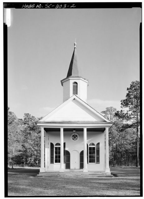 Stoney Creek Presbyterian Church, 1 block North of SC Route 17, McPhersonville, Hampton County, SC