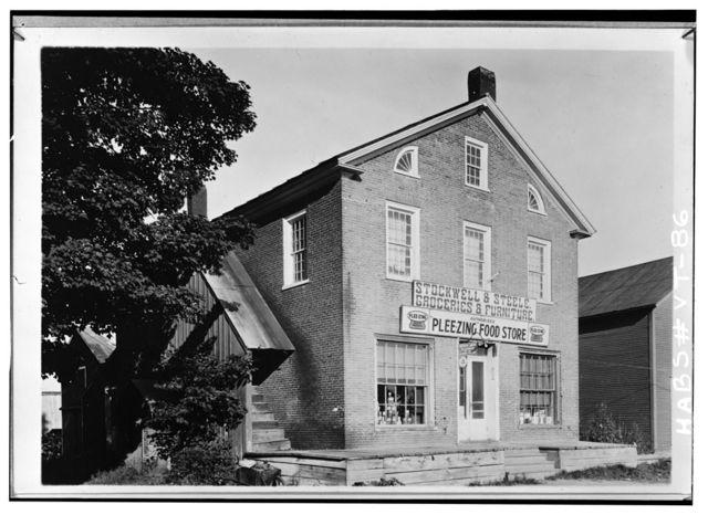 Store, Highgate Falls Common, Highgate Falls, Franklin County, VT