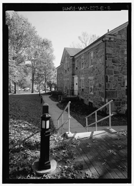 Storer College, Cook Hall, 252 McDowell Street, Harpers Ferry, Jefferson County, WV