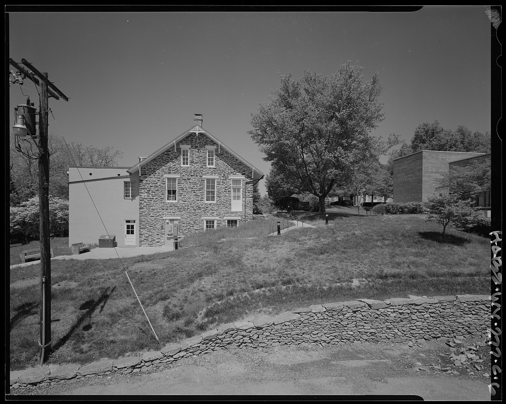 Storer College, Lewis Anthony Library, Camp Hill, Harpers Ferry, Jefferson County, WV