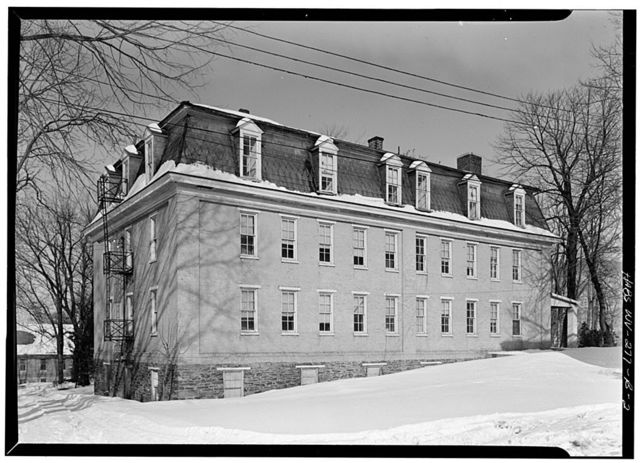 Storer College, Mosher Hall, Harpers Ferry, Jefferson County, WV