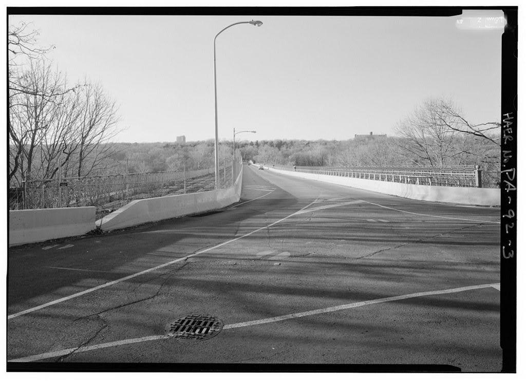 Strawberry Mansion Bridge, Spanning Schuylkill River at Strawberry Drive, Philadelphia, Philadelphia County, PA