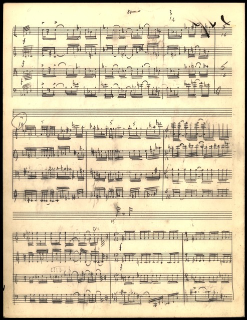 String Quartet [holograph sketch score, pencil]