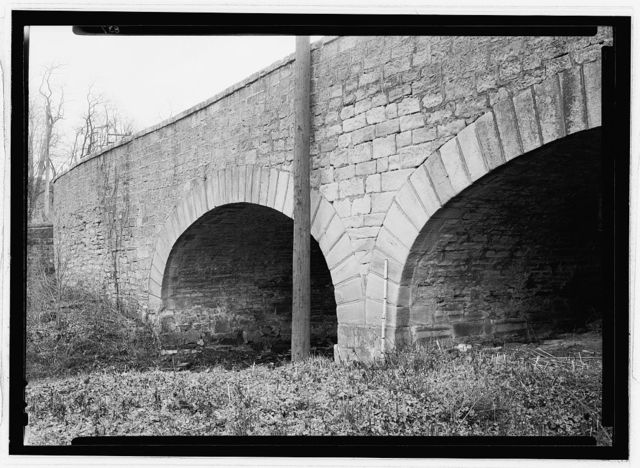 Structures on Old National Trail, Bridge, U.S. Route 40, Pittsburgh, Allegheny County, PA