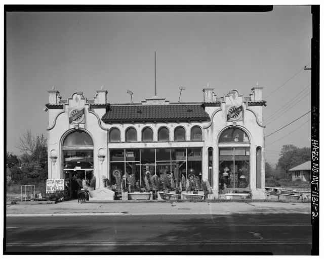 Studebaker Dealership, U.S. Highway 40, Pleasantville, Atlantic County, NJ