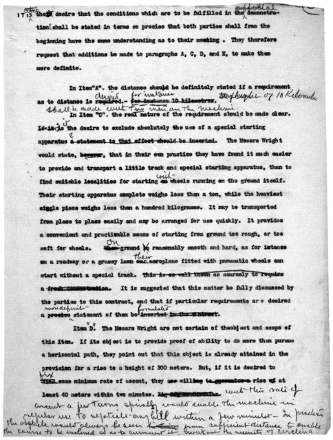 Subject File:  Foreign Business--Countries--France--Negotiations with Government, undated