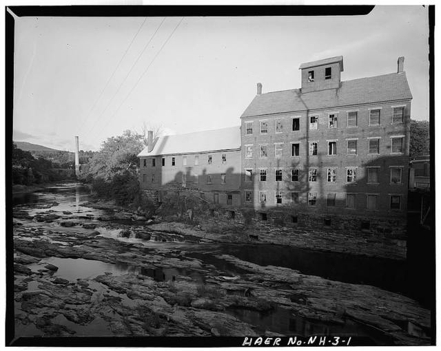 Sugar River Grist Mill & Saw Mill, 159 Main Street, Claremont, Sullivan County, NH