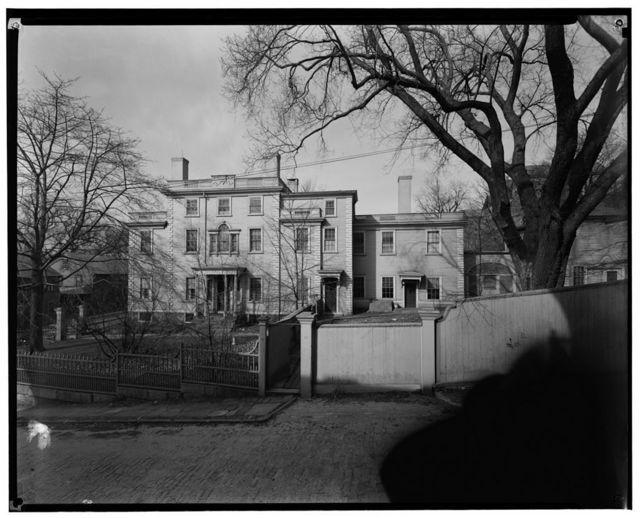 Sullivan Dorr House, 109 Benefit Street, Providence, Providence County, RI