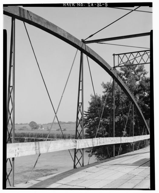Supple Ford Bridge, Spanning South Fork of Maquoketa River, Clay Mills, Jones County, IA