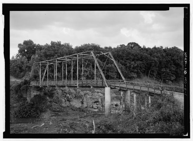 Surprise School Bridge, Spanning South Grand River, Gaines, Henry County, MO