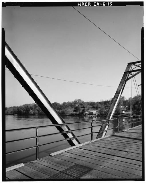 Sutliff's Ferry Bridge, Spanning Cedar River (Cedar Township), Solon, Johnson County, IA