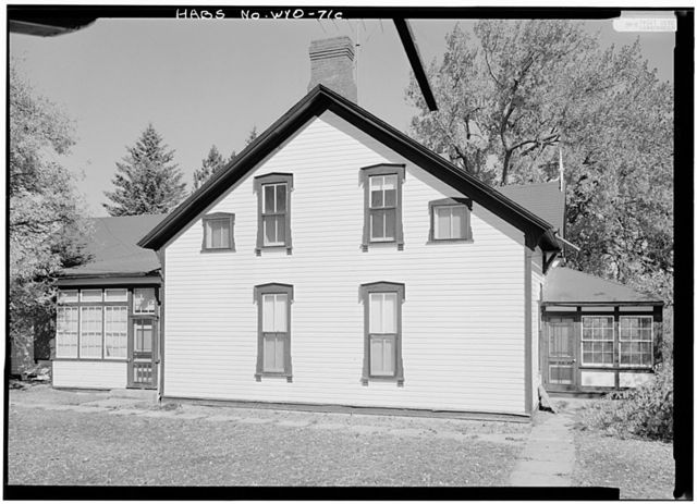 Swan Land & Cattle Company, Manager's House, State Route 313, Chugwater, Platte County, WY