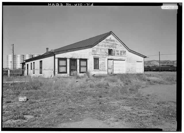 Swan Land & Cattle Company, Mercantile Store, State Route 313, Chugwater, Platte County, WY
