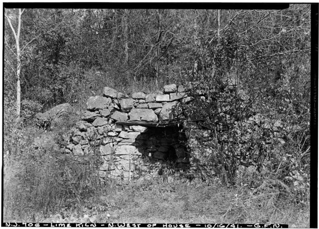 Swayze Lime Kiln, Hope, Warren County, NJ