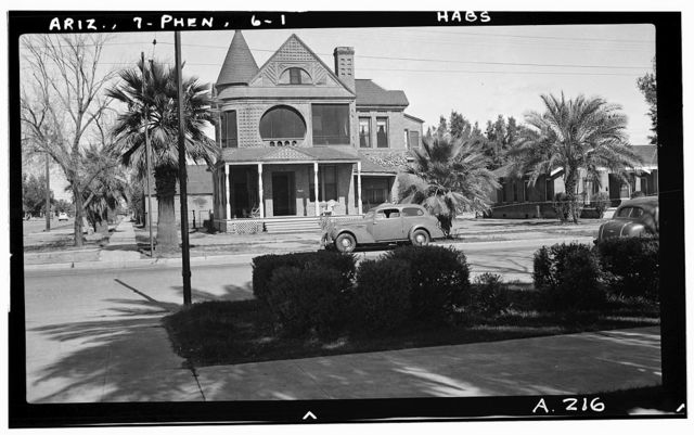 Sweatnan House, Adams Street & Eighteenth Avenue, Phoenix, Maricopa County, AZ