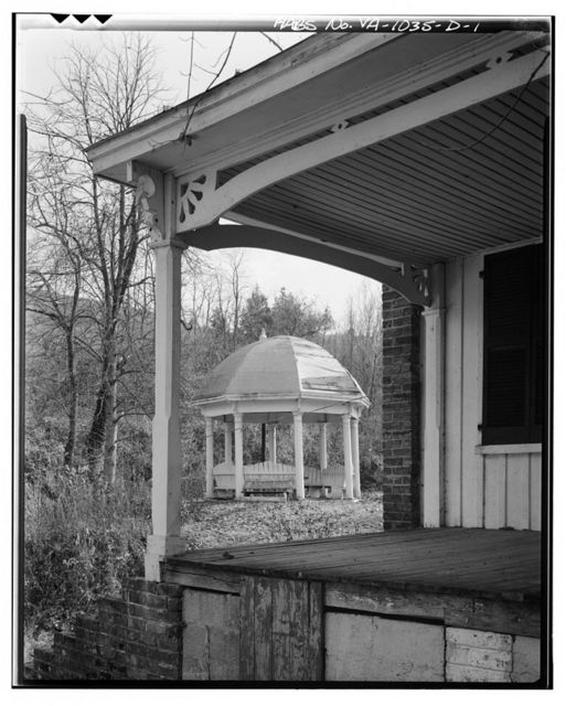 Sweet Chalybeate Springs, Bandstand, State Route 311, Sweet Chalybeate, Alleghany County, VA