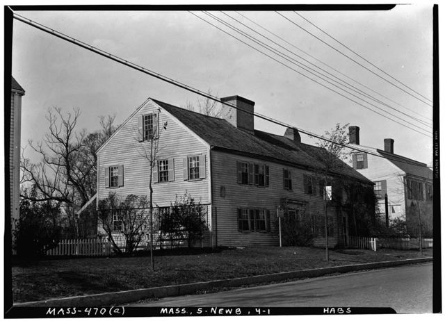 Swett-Ilsley House, 4-6 High Street, Newbury Old Town, Essex County, MA
