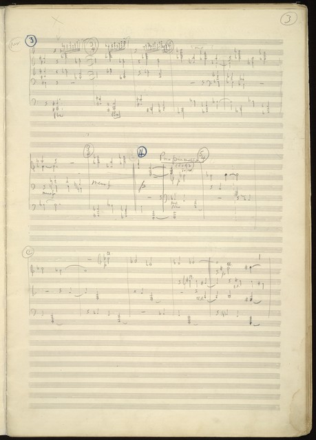 Symphonic ode [sketch-score]