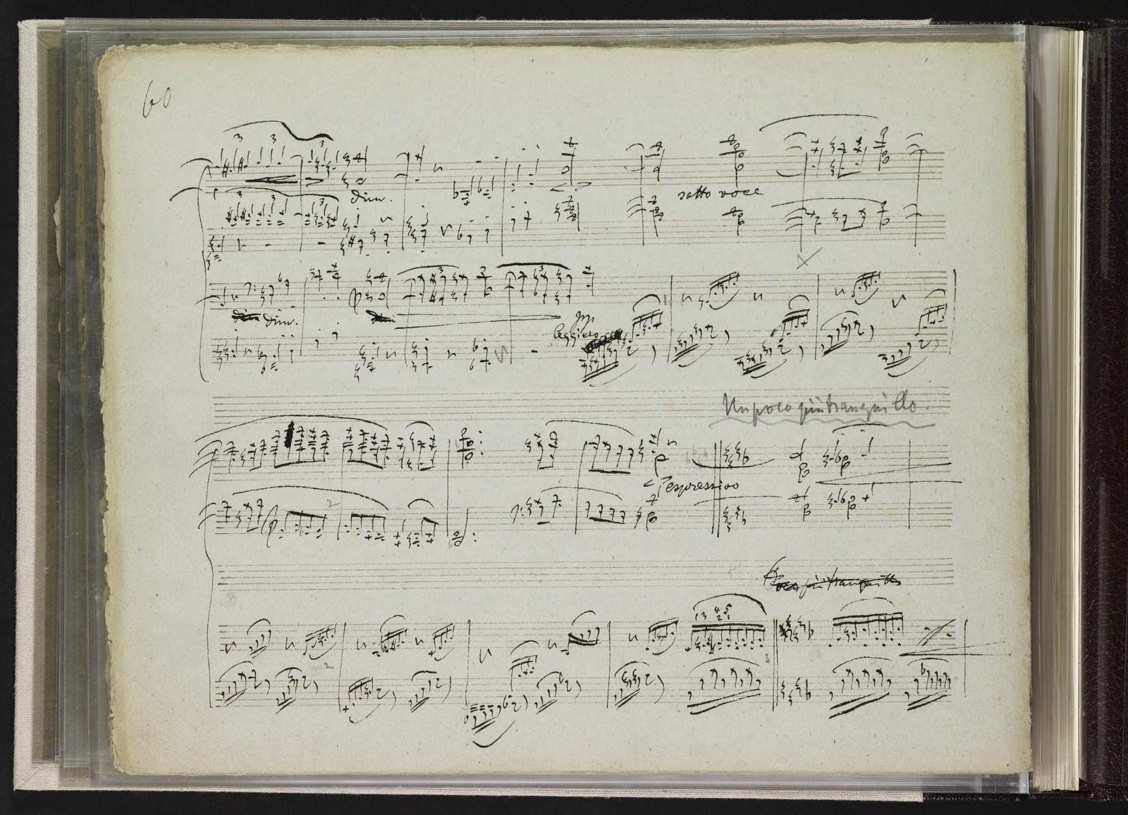 Symphonie F Dur für 2 Claviere