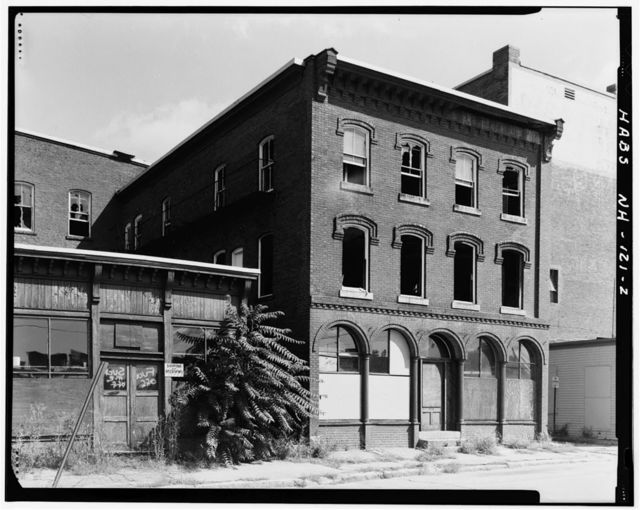 T. L. Thorpe Building, 19 Traction Street, Manchester, Hillsborough County, NH