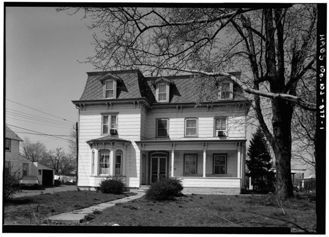 T. Thomas Fortune House, 94 West Bergen Place, Red Bank, Monmouth County, NJ
