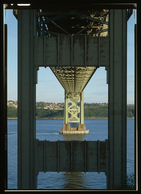 Tacoma Narrows Bridge, Spanning Narrows at State Route 16, Tacoma, Pierce County, WA