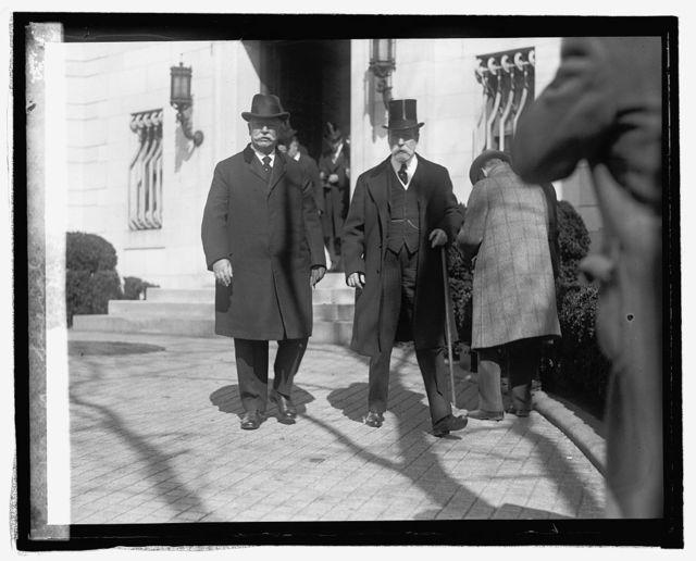 Taft & Hughes at McCormick funeral, 2/26/25