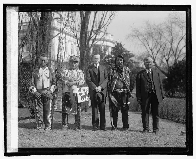 Takina Indians at W.H., 2/18/25