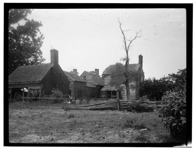 Tankard's Rest, State Routes 618 & 604 vicinity, Hadlock, Northampton County, VA