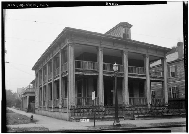 Tardy-Thorp House, 112 South Conception Street, Mobile, Mobile County, AL