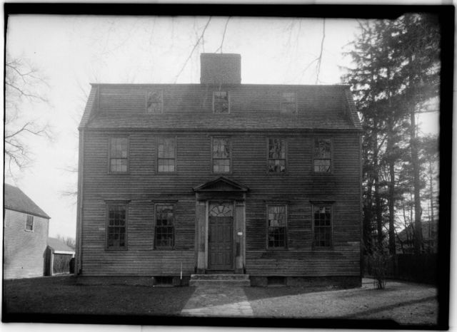 Tate House, 158 Westbrook Street, Stroudwater, Cumberland County, ME