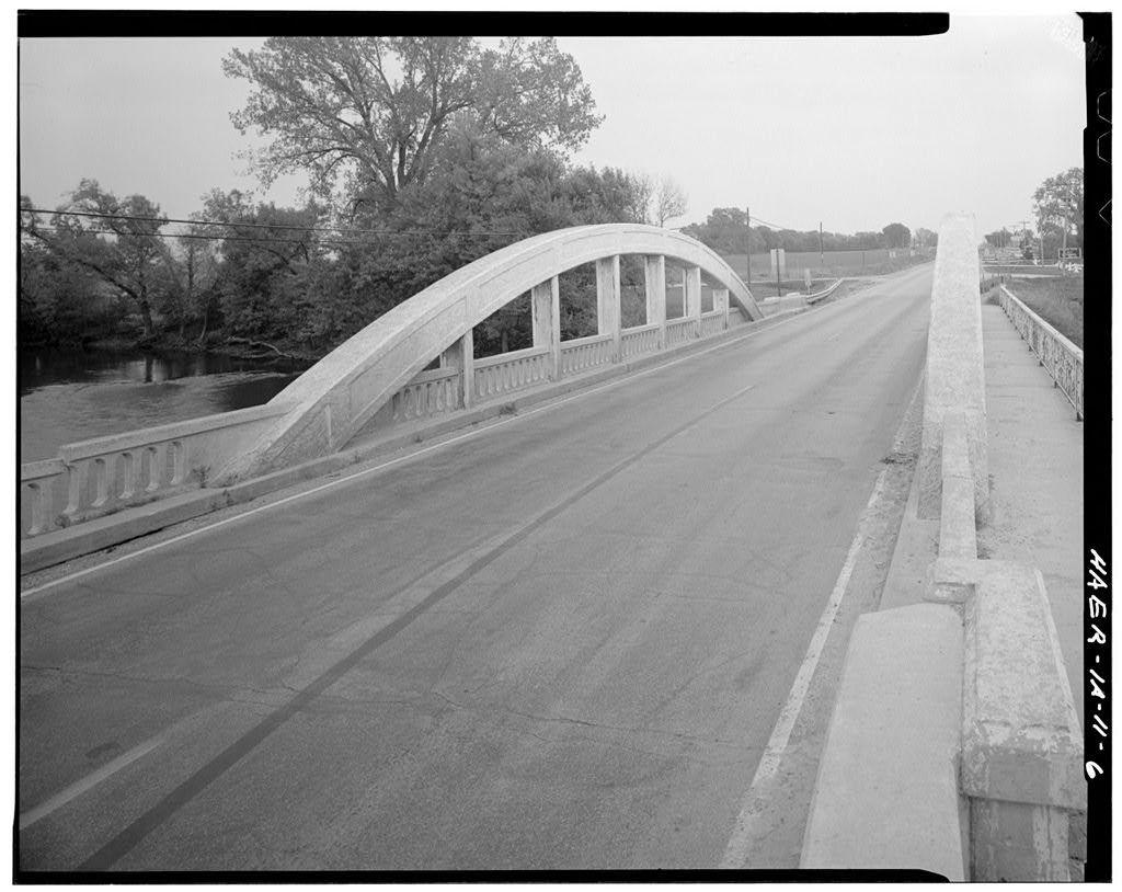 Taylor Bridge, Spanning Winnebago River, U.S. Route 18, Mason City, Cerro Gordo County, IA
