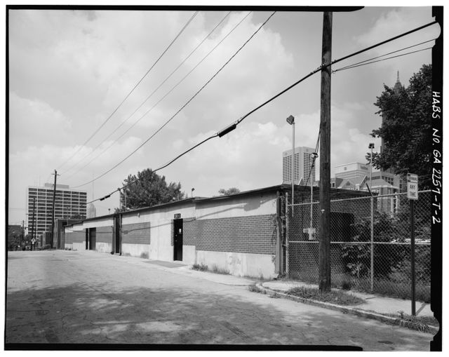 Techwood Homes, Maintenance Building, 501 Lovejoy Street, Atlanta, Fulton County, GA