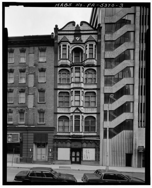 Telegram Building, 227 Walnut Street, Harrisburg, Dauphin County, PA