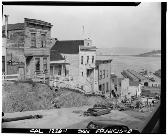 Telegraph Hill (Houses), Union Street, San Francisco, San Francisco County, CA