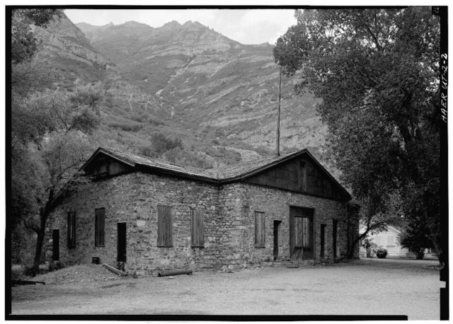 Telluride Power Company, Nunn Hydroelectric Plant, Southeast side of Provo River, 300 feet West of US Route 189, Orem, Utah County, UT