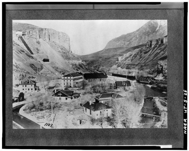 Telluride Power Company, Olmsted Hydroelectric Plant, mouth of Provo River Canyon West of U.S. Route 189, Orem, Utah County, UT